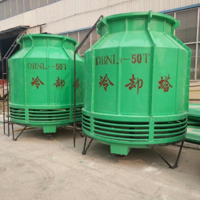 宏丰厂家批发供应玻璃钢冷却塔 圆形冷却塔 方形玻璃钢 冷却塔加工订制