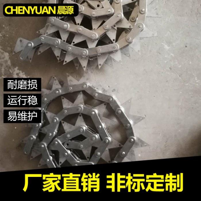 厂家供应非标不锈钢链条 工业传动异形链条 精密滚子链 空心链加工