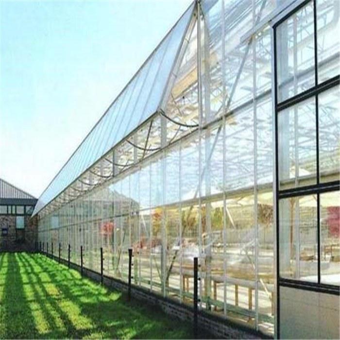 农业薄膜大棚 温室内外遮阳系统 定制温室大棚