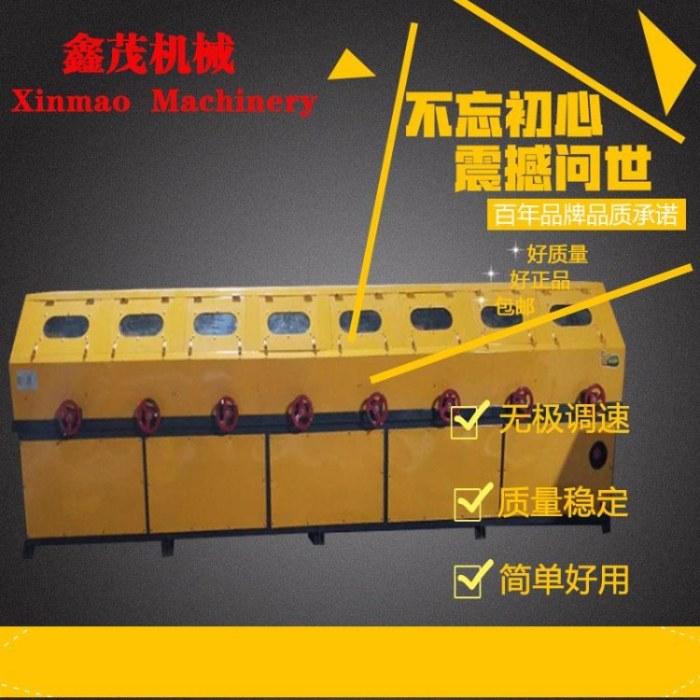 鑫茂镜面带钢抛光机角钢除锈机新活塞杆抛光研磨设备天然气管道除锈机