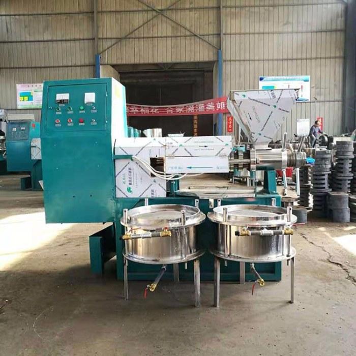 厂家供应  免费安装油坊花生大豆榨油机 新型大豆全自动榨油机