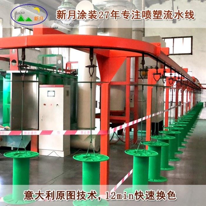 静电自动喷涂设备 自动喷涂设备生产线