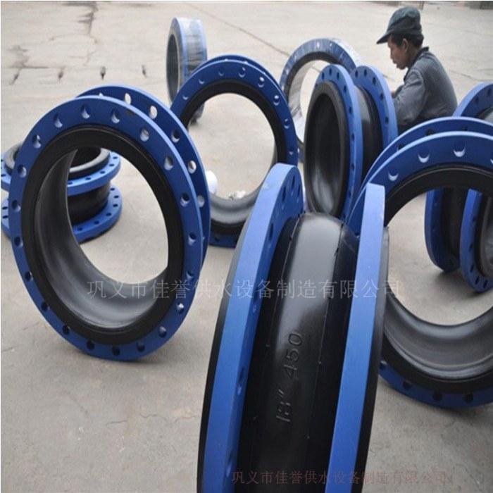 美标橡胶接头不锈钢法兰单球体合成橡胶接头厂家直销