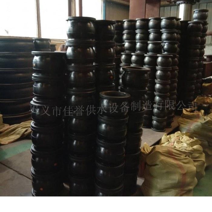 304不锈钢法兰软接头橡胶减震器 橡胶软连接厂家促销