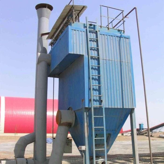 河北家生产 反吹扁袋除尘器 单机脉冲布袋除尘设备 脱硫除尘设备