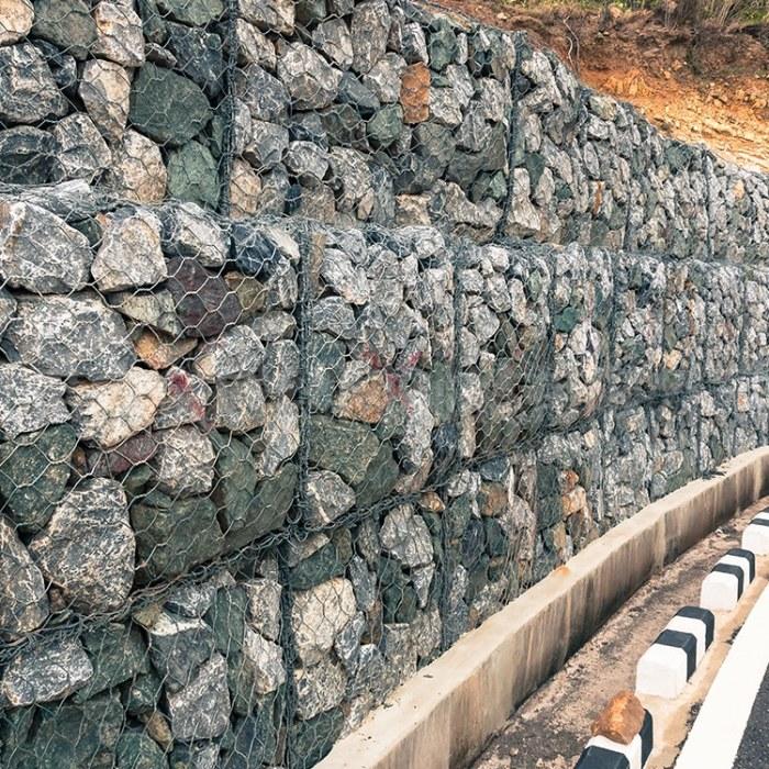 格宾网 高尔凡格宾笼 水利工程格宾网笼厂家生产定制