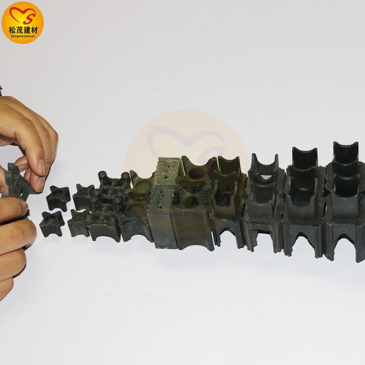 南昌塑料垫块厂家 工地用的 砼塑料垫块 马凳 松茂建材