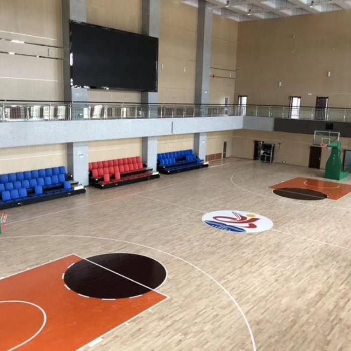 亿鑫体育馆运动木地板优惠价格  篮球馆木地板厂家直销
