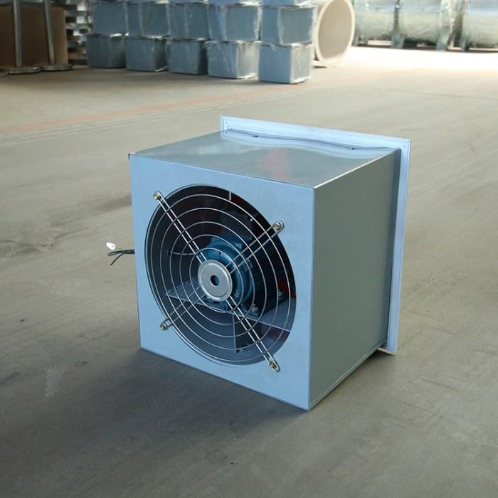 定制WEXD边墙式轴流风机 WEX边墙风机 低噪声墙壁式风机