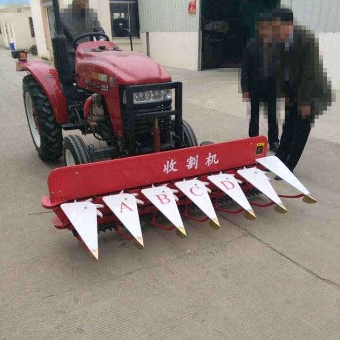 富强 旱地水田植物收割机 田间水稻麦子割晒机 小型手推式稻麦收割机
