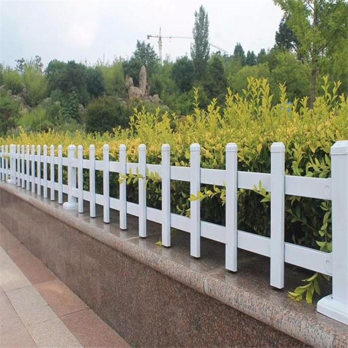 欧强加工定制 花园围栏 PVC草坪护栏 电力围栏