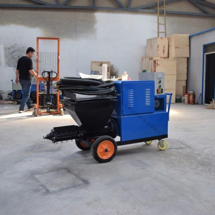 多功能快速水泥砂浆喷涂机 小型石膏喷浆机