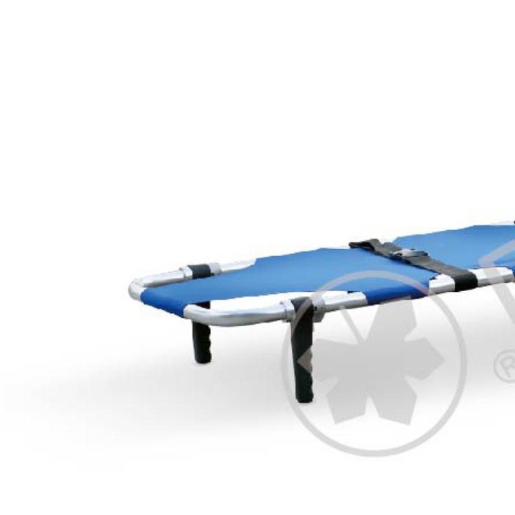 江苏日新医疗设备 YDC-1A3 折叠担架脚轮支架 高强度铝合金架 牛津革架面 厂家直供