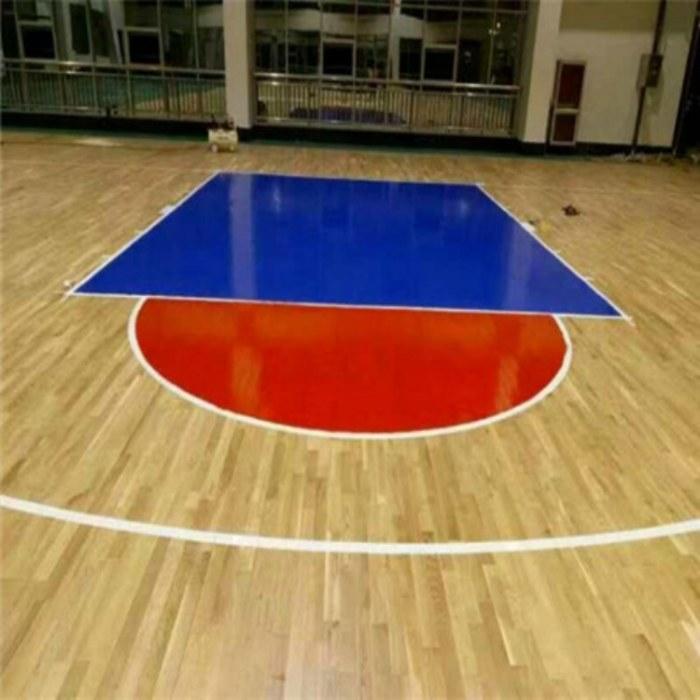 双拼运动木地板 优质运动木地板选昊霖体育