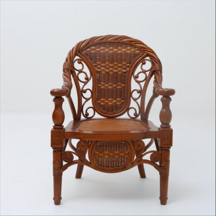 昌盛藤器 藤编椅 藤椅厂家 藤艺家具组合三件套 藤制家具厂家