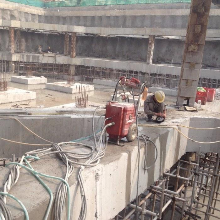 天津地铁支撑梁切割拆除 混凝土梁切割,专业公司,服务周到,价格合理,欢迎来电咨询