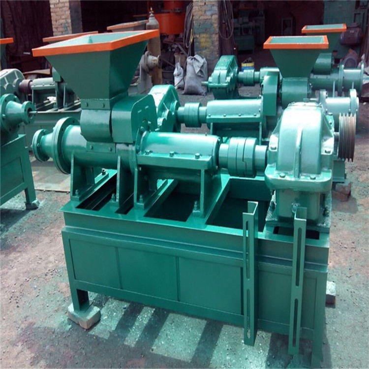 多功能炭粉成型机 秸秆挤压制棒机 洁净环保兰炭煤棒机