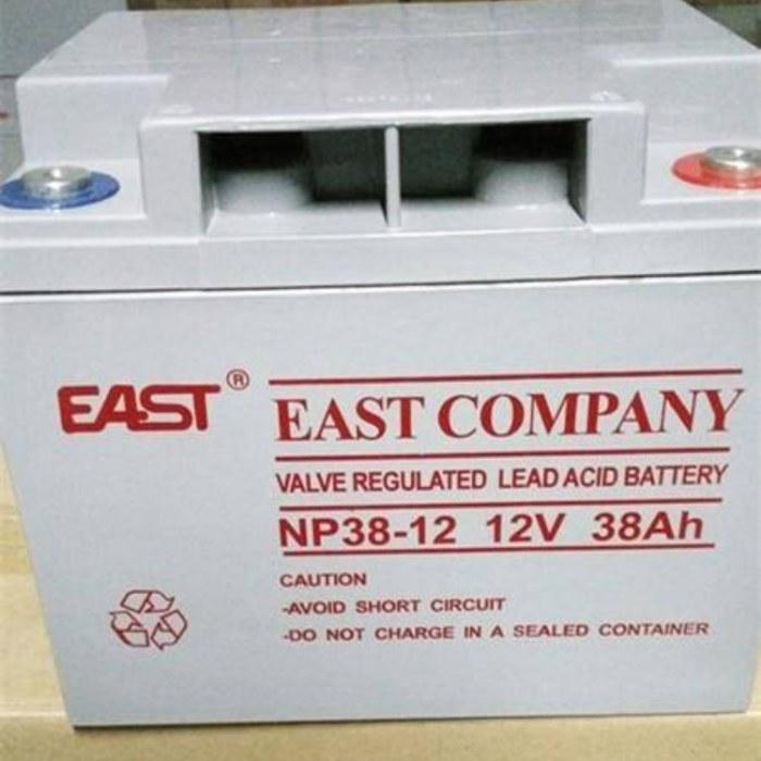 易事特蓄电池12V38AH               UPS电源      设计寿命8年