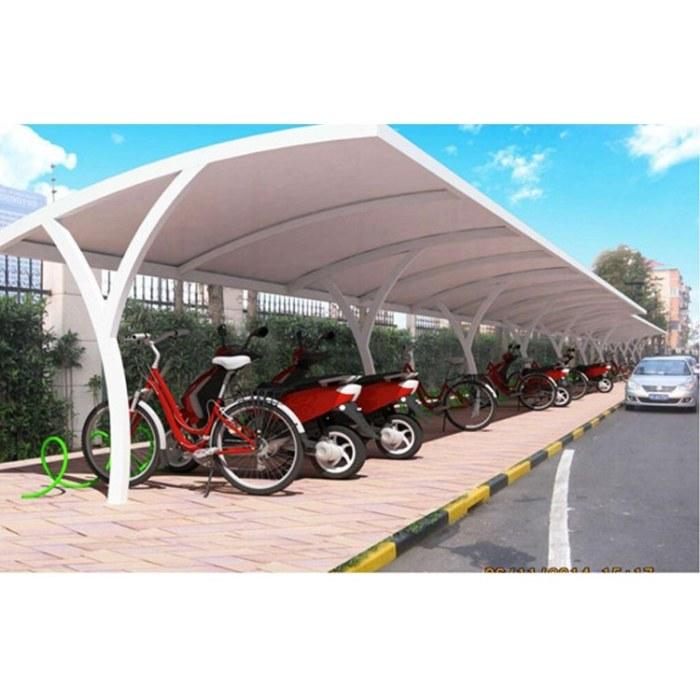 鑫绿荫|钢膜结构|景观棚|停车棚|钢膜结构小品 定制