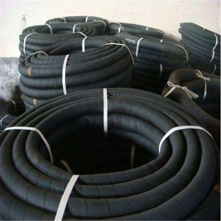 加工定制建筑砂泵专用高耐磨胶管 散装水泥车空压机专用耐磨胶管  抗老化耐腐蚀性能好