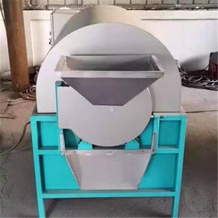 电加热商用炒料机 重庆辣椒滚筒炒货机 油菜籽烘干机