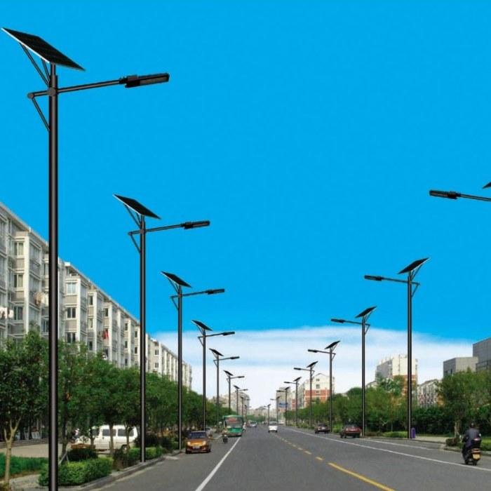 6米路灯led太阳能路灯农村户外照明灯小区灯厂家定制
