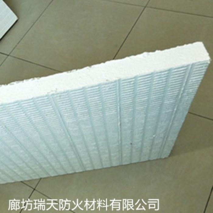 瑞天防火涂层板生产厂家 岩棉防火涂层板价格