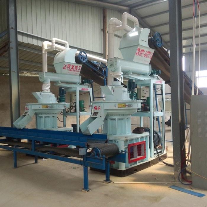 大型木屑颗粒机生产线 450秸秆颗粒机价格