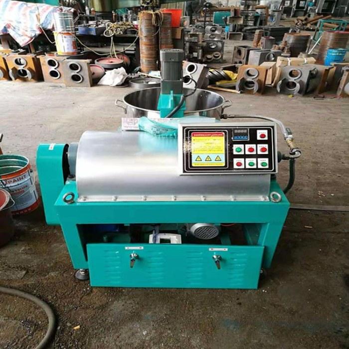 100型多功能螺旋榨油机 全自动菜籽油榨油机 热销小型商用大豆榨油机
