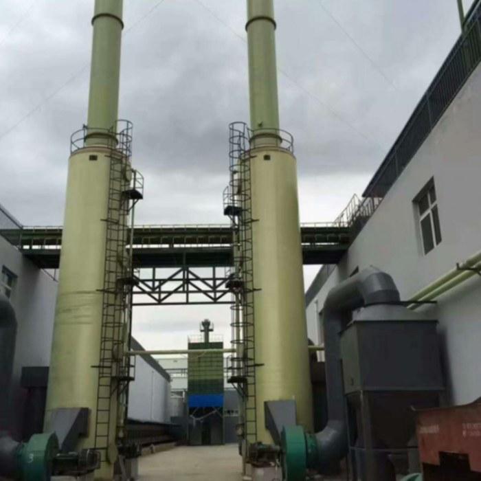 脱硫塔 河北宏丰环保设备有限公司 玻璃钢脱硫塔设备 吸收塔吸附塔