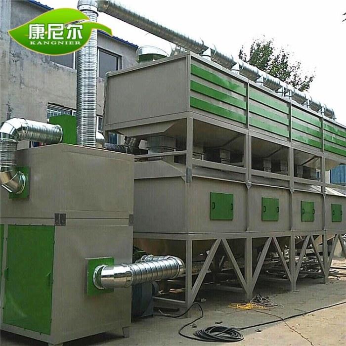 厂家直供 康尼尔环保rco催化燃烧设备 工业废气处理设备定制
