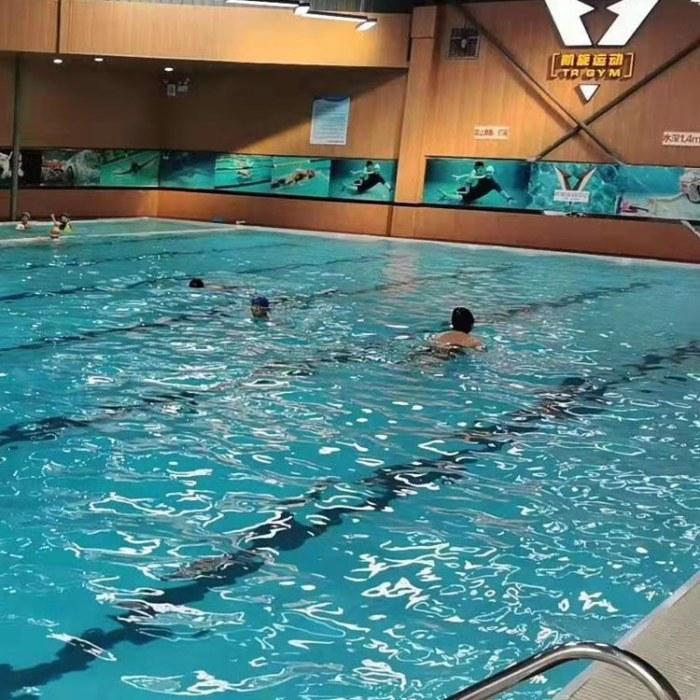 雨洁钢结构拼装式游泳池  支架拆卸式式游泳池