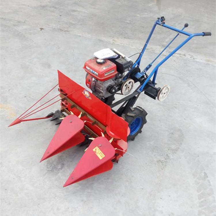 富强 双轮自走割秧机 皇竹草割晒机 手扶动力一体苜蓿收割机