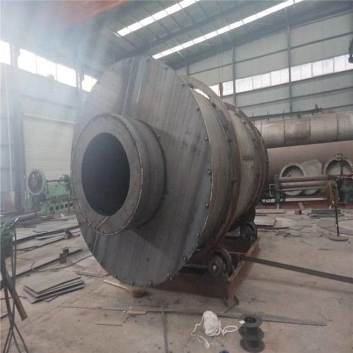 工业型煤烘干机 三回程污泥滚筒烘干机 木屑转筒干燥机
