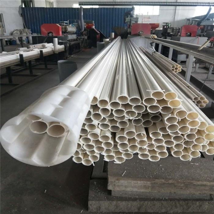 山东梅花管厂家  供应安徽HDPE七孔梅花管  108口径通信管