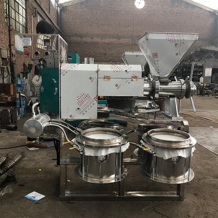 150型液压芝麻油料香油机 多功能食用油压榨设备 出油纯净度高