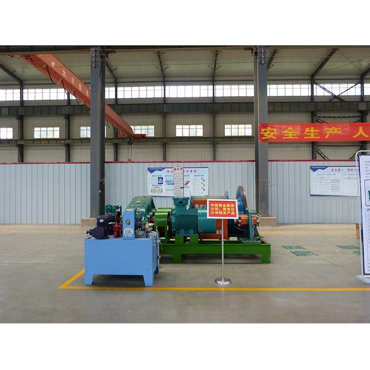 鹤壁星光矿机矿井提升机矿山提升设备JKMD-3-4