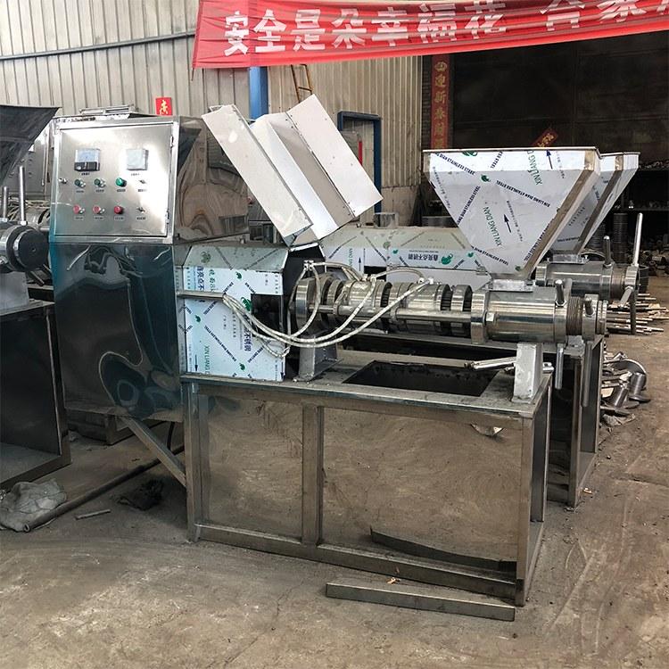 全自动榨油机 大豆食用油加工设备 榨油机厂家