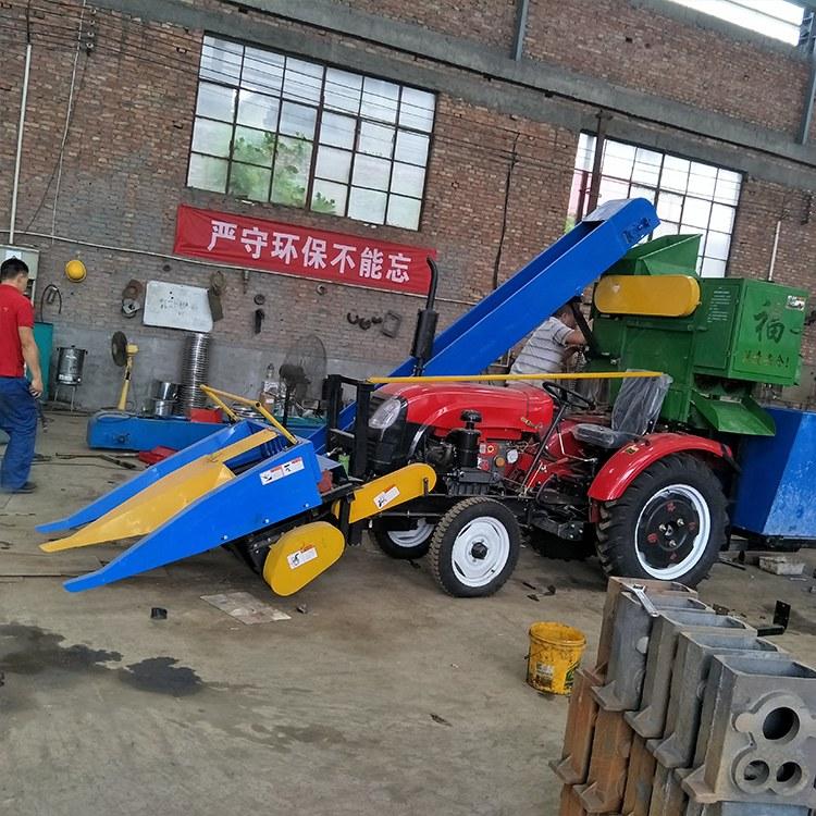 新款玉米收割机 大马力柴油玉米收割机 苞米收获机厂家