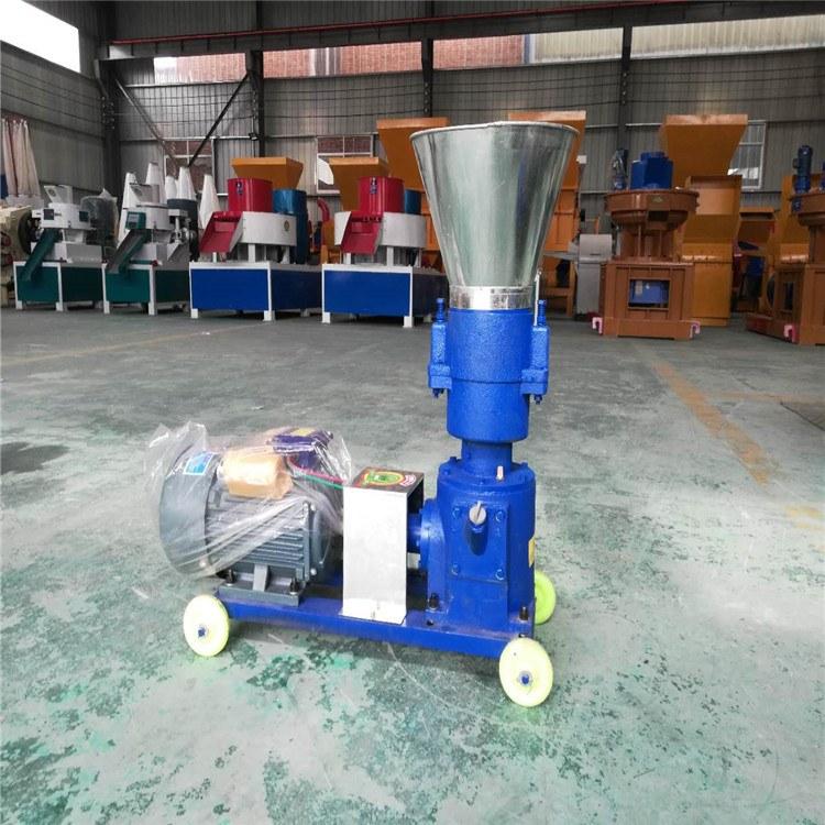 养殖专用豆粕制粒机 小型杂草颗粒饲料机 秸秆饲料颗粒机