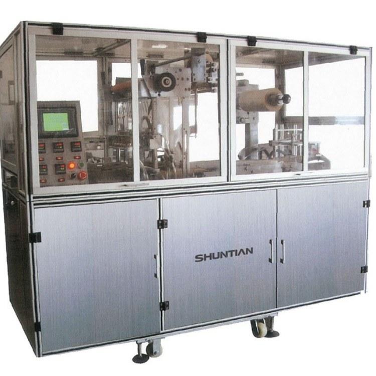 T400型全自动透明膜三维包装机 烟包机