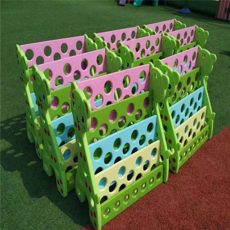 幼儿园日常用品儿童书架儿童毛巾架玩具架塑料鞋架