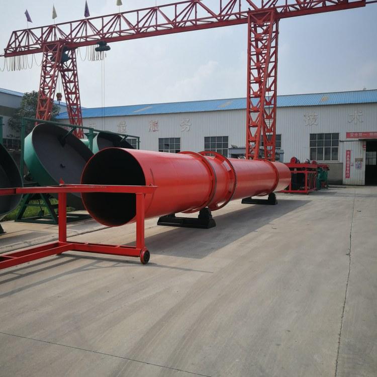 郑州科农 猪粪有机肥有氧发酵翻堆机  3万吨鸡鸭粪颗粒有机肥生产线设备厂家推荐