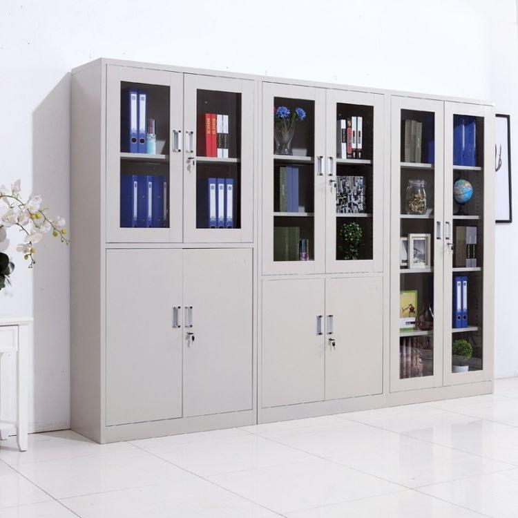 档案文件柜 文件柜办公柜钢制铁皮柜资料柜档案柜储物柜 伟之豪