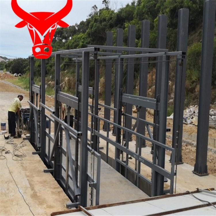 【超瑞】厂家定制仓库2吨3吨5吨升降货梯导轨货梯车间货梯