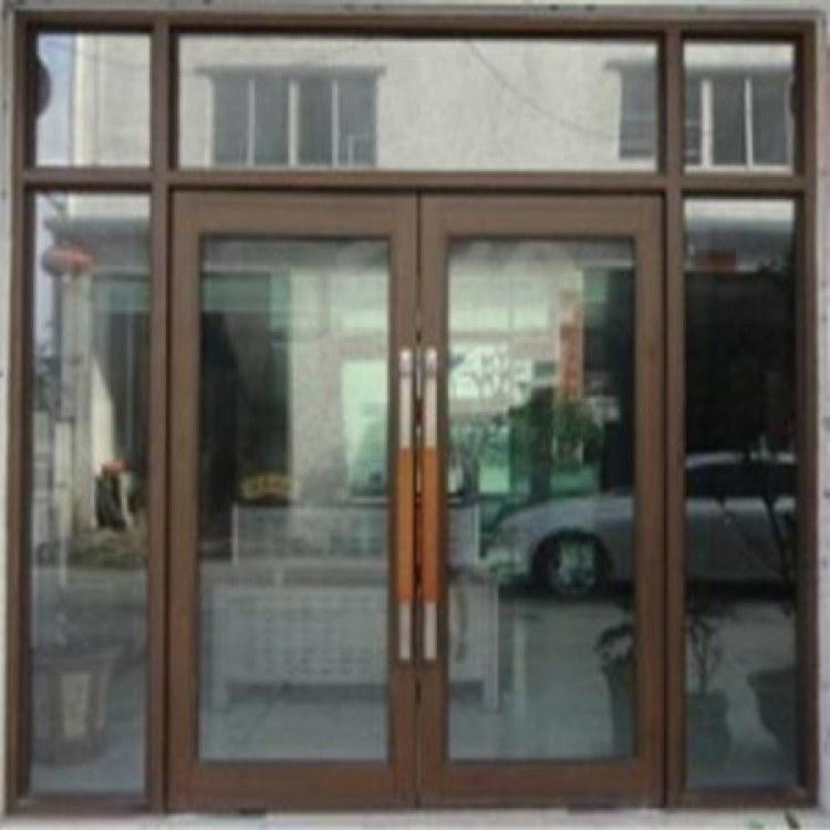 厂家供应优质 沧州地弹簧玻璃门 任丘推拉玻璃门 产品直供
