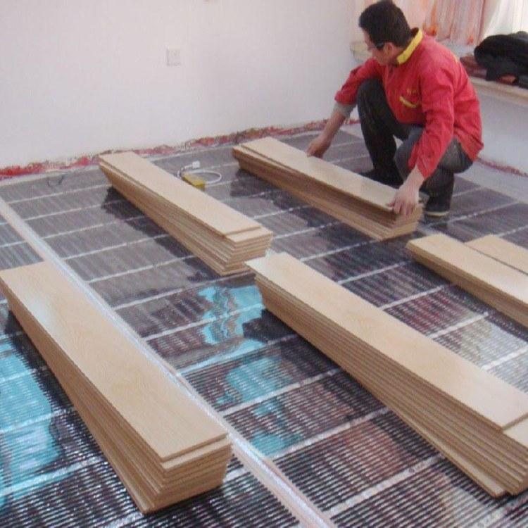 阿坝专业采暖公司酒店/家用/别墅电地暖电热膜安装就用韩国碳晶 采暖面积达400-599㎡厂家定制安装