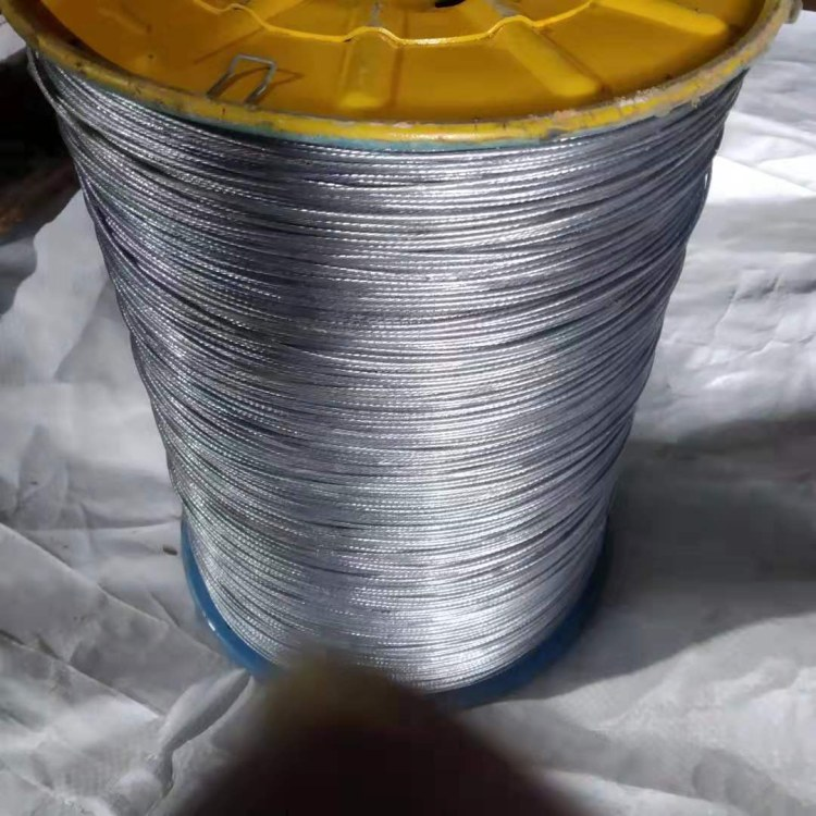 河北德力 专业生产玻璃棉用钢丝绳 玻璃棉用涂塑钢丝绳专业生产厂家