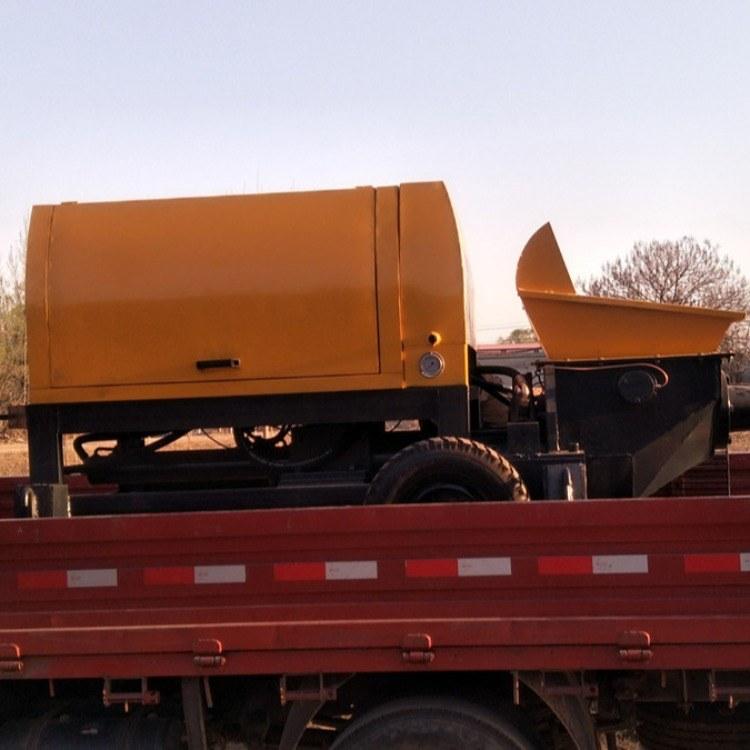 细石混凝土泵 大型混凝土输送泵 二次构造柱泵 乐众机械