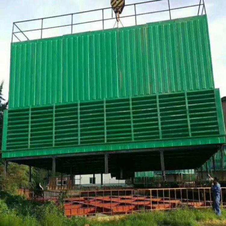宏丰 工业制冷大型玻璃钢冷却塔 圆形方形玻璃钢冷却塔